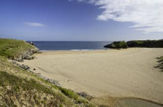 Broad Haven South beach on a beautiful summer day