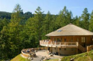The visitors centre at Coed y Brenin
