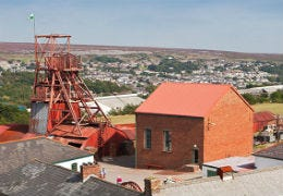 Big Pit Mining Museum preserving the Industrial Landscape in South Wales