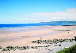 View of Benllech Beach on a sunny day