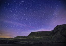 Stars over the Brecon Beacons