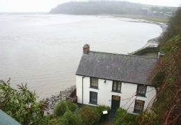 Dylan Thomas Boathouse in South Wales
