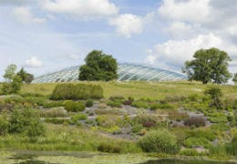 The Great Glass House at the National Botanic Garden Wales
