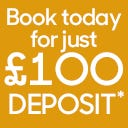 Book your holiday in Wales for just £1OO deposit... and relax...