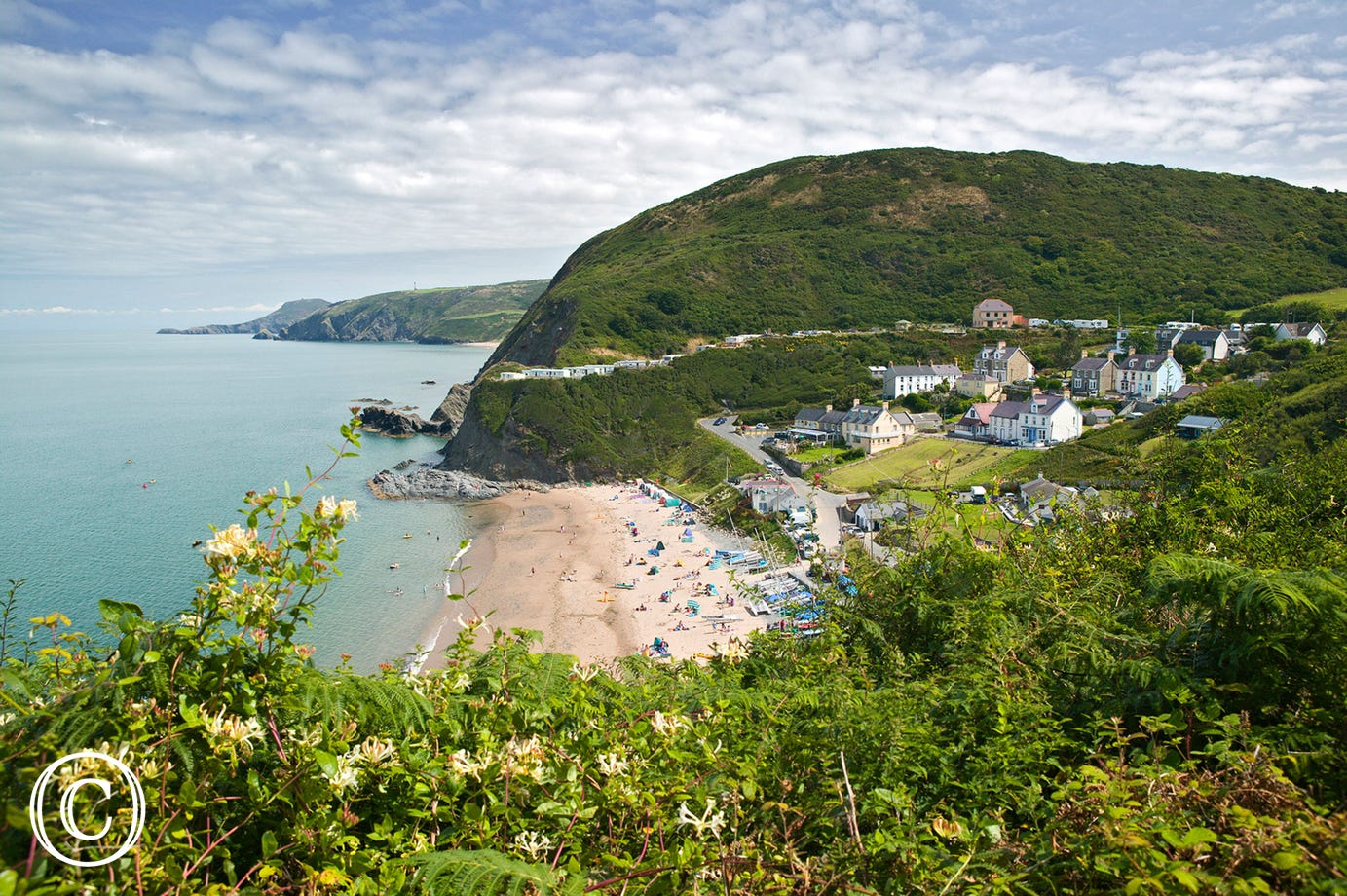 Beach at Tresaith