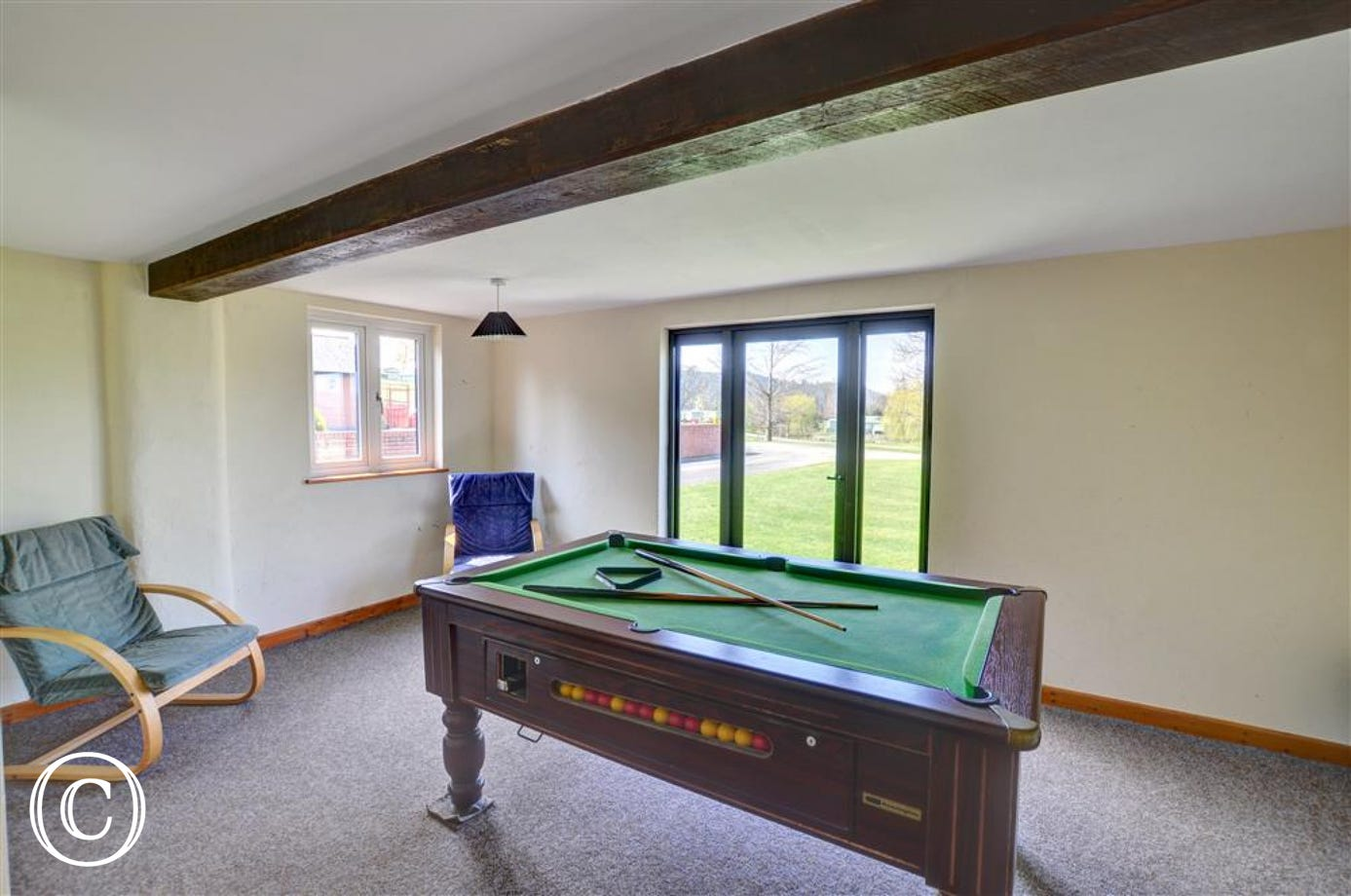 Gellidywyll - Shared Games Room View 1