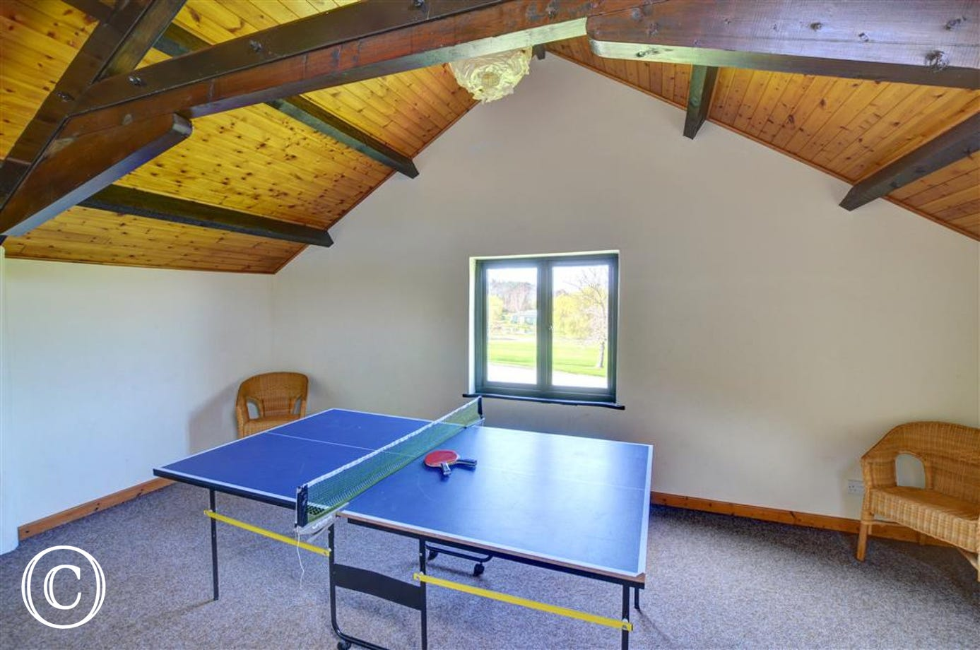 Gellidywyll - Shared Games Room View 2
