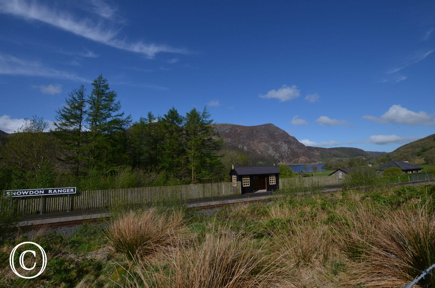 WAG351- View of Old Snowdon Ranger Station