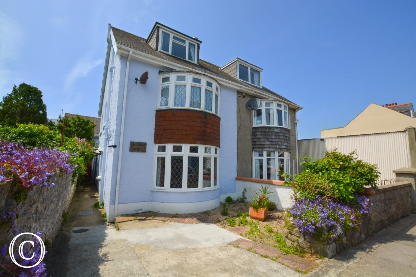 Holiday accommodation in Tenby, ideal for a family.
