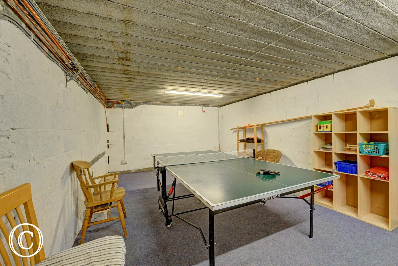 Games room - table tennis