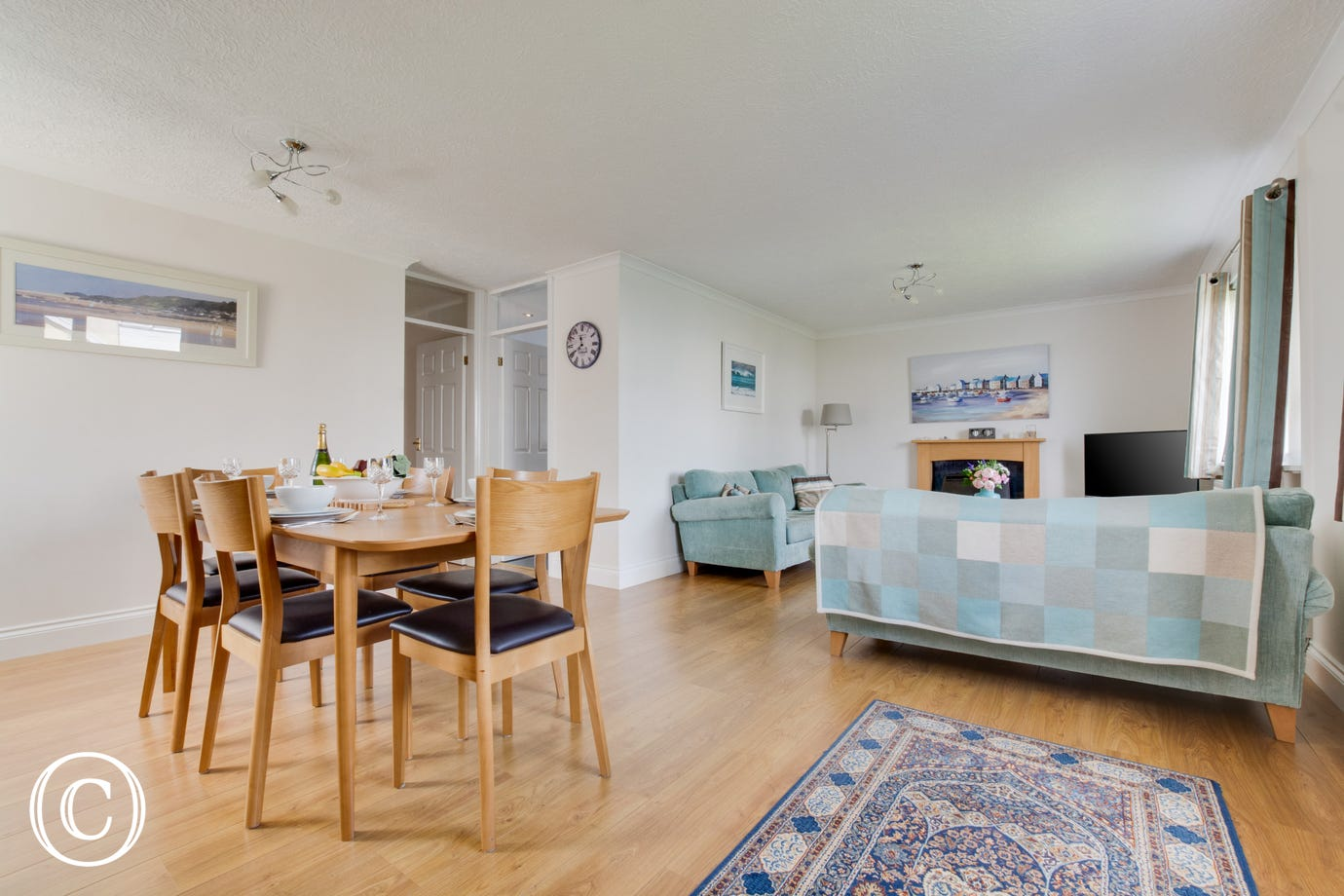 Self catering accommodation in Saundersfoot with open plan living