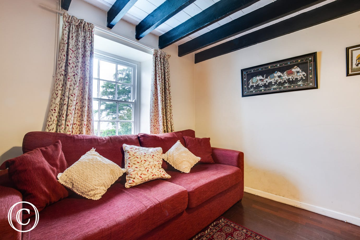 A second sitting room is provided at Allt Y Felin.