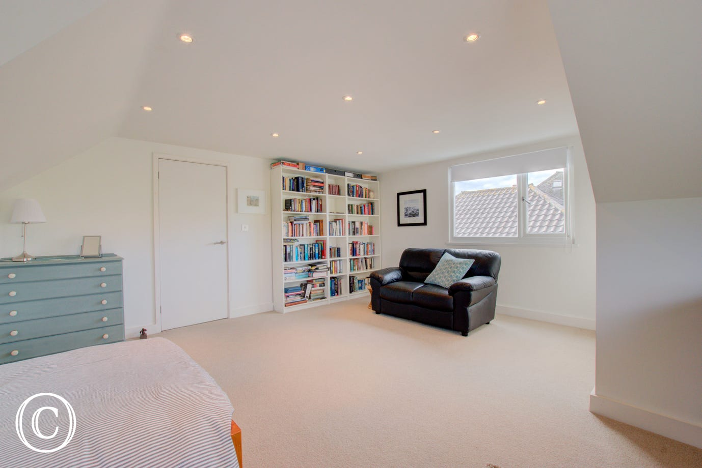 Reading room / spare bedroom