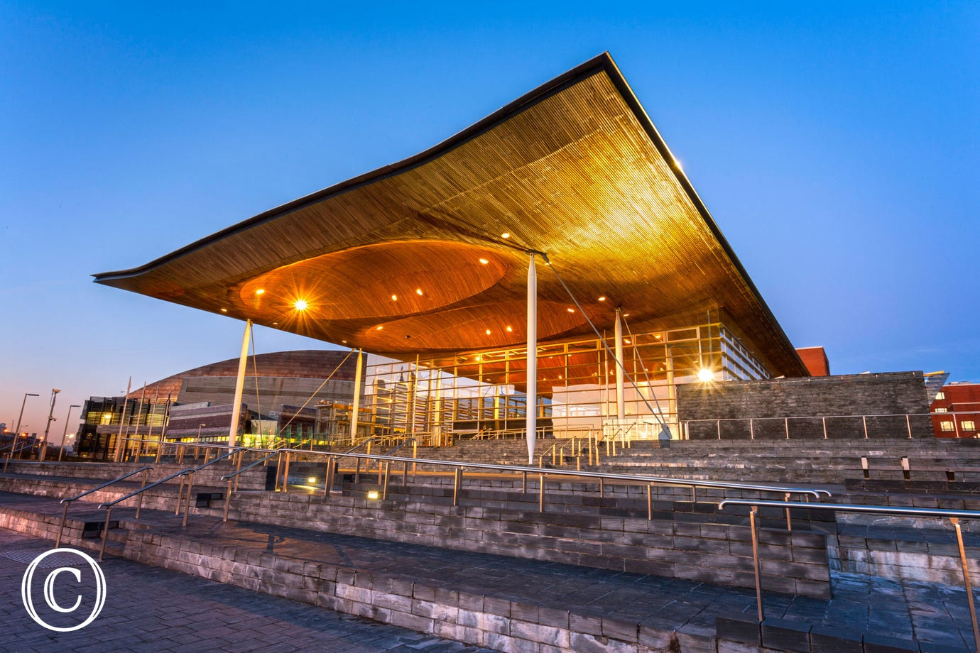 Y Senedd / Assembly in Cardiff Bay