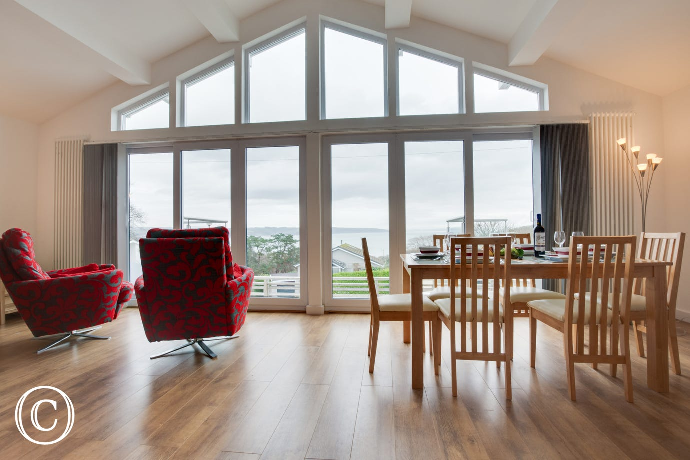 Take advantage of the sea views from this self catering holiday accommodation.
