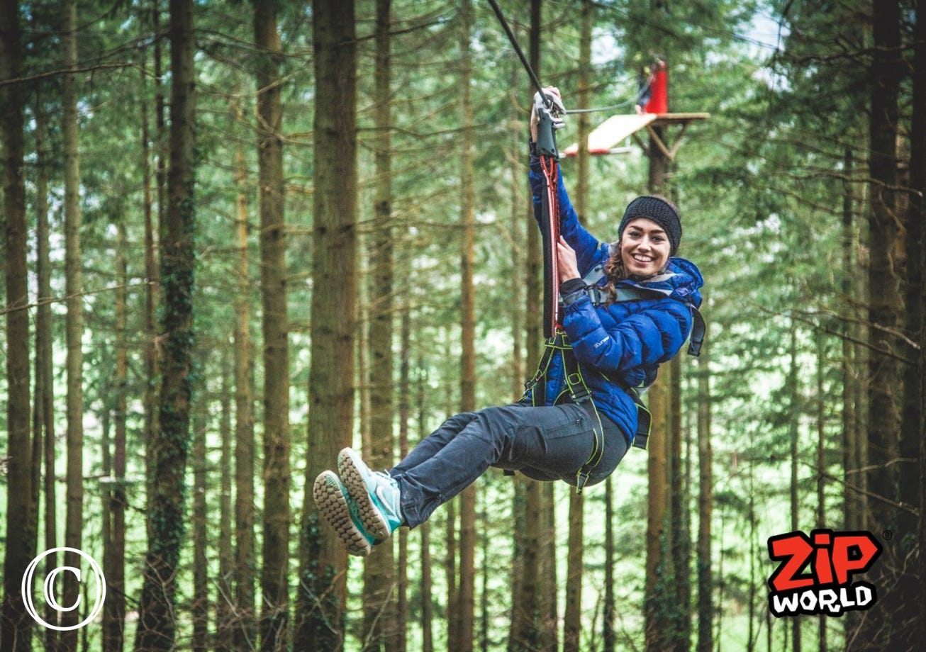 ZipWorld Zip Safari in Betws y Coed