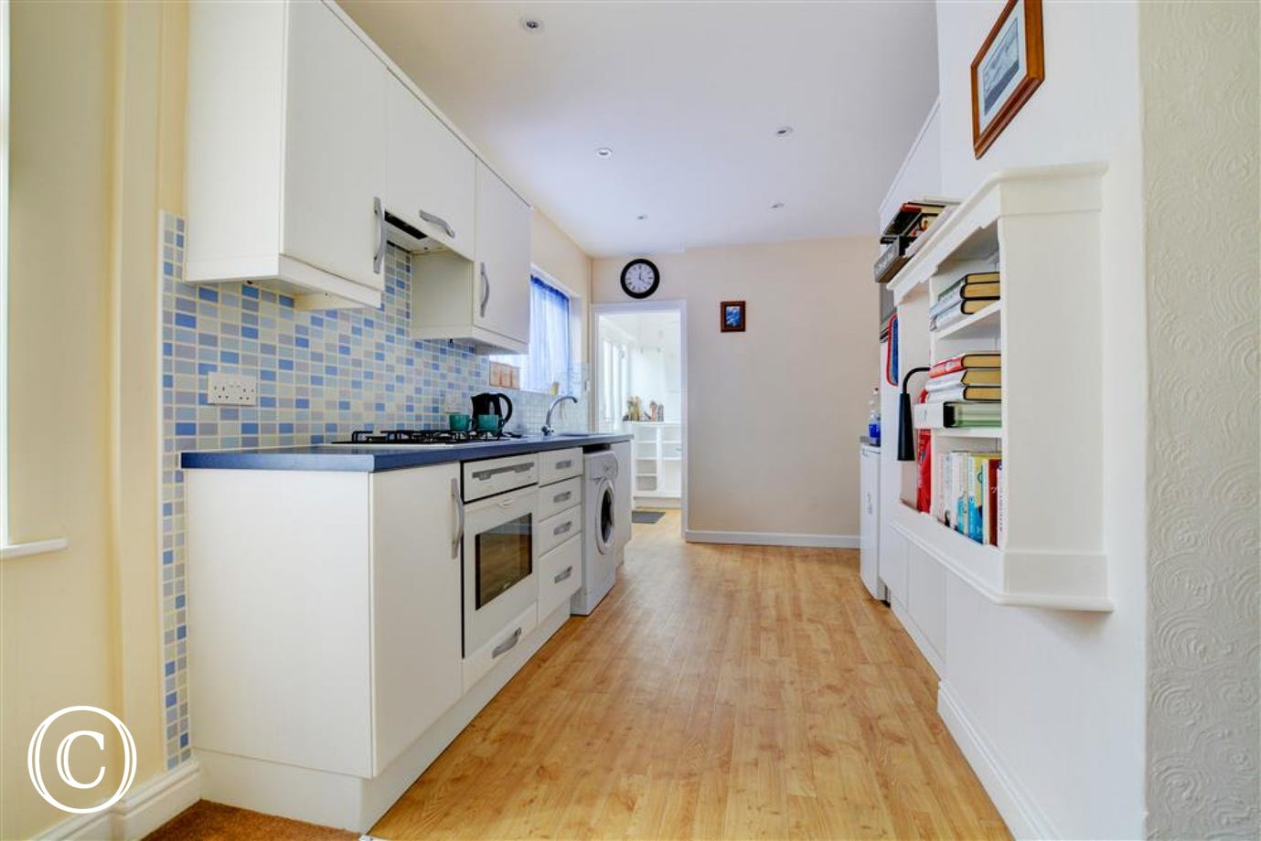 Spacious and well equipped kitchen at this self catering property