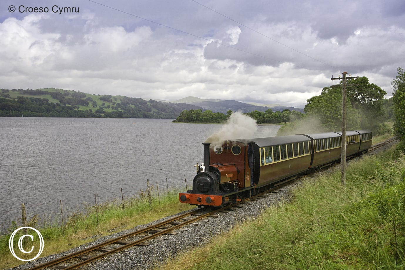 Bala Lake Railway - a lovely journey from Bala to Llanuwchllyn