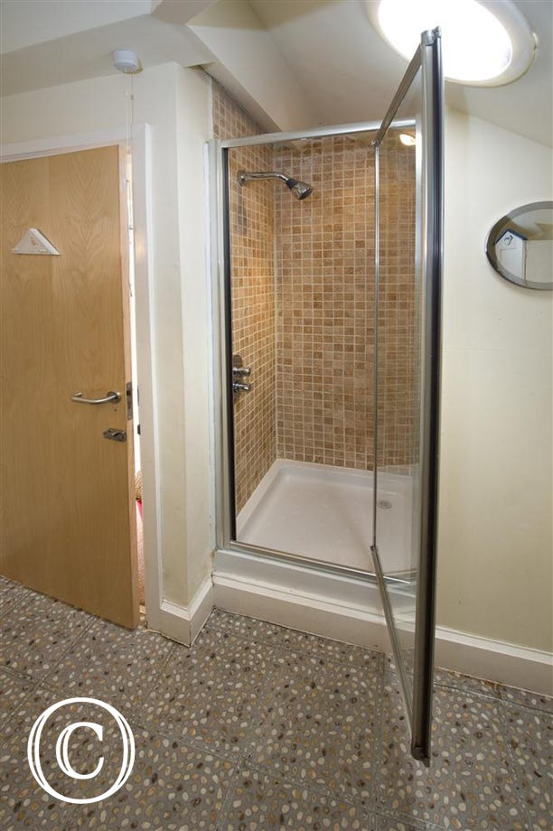 Shower room on the second floor so convenient to the two bedrooms on that floor
