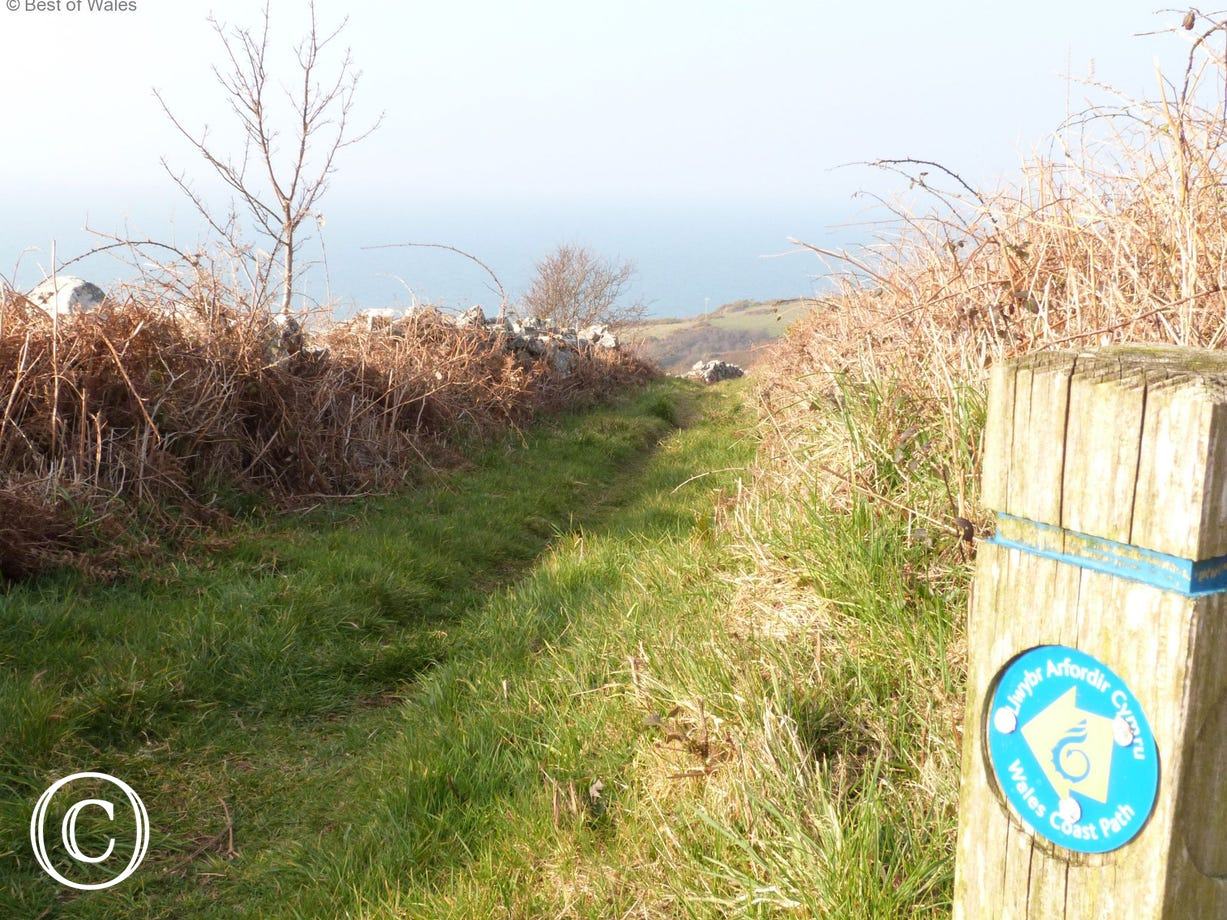 The All Wales Coast Path is on your doorstep