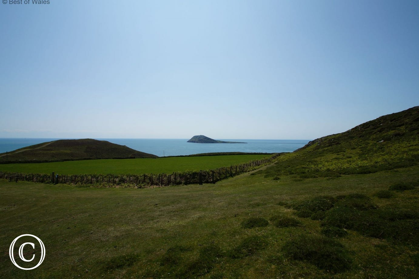 Catch a boat to Bardsey Island, a former site of religious pilgrimage