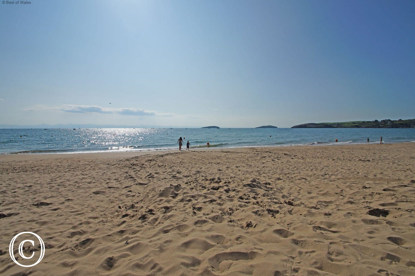 Abersoch beach - just 1 mile from your 5 star cottage