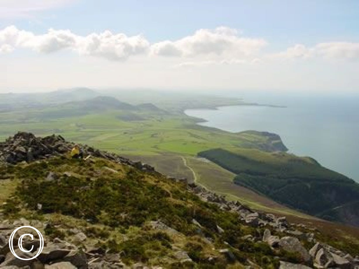 The Rivals - one of the many beautiful Llyn Peninsula walks