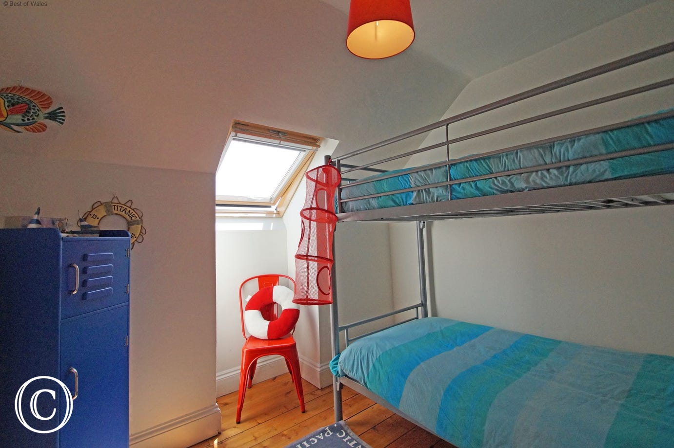 Rhianfa - Self Catering accommodation in New Quay - Bunk beds