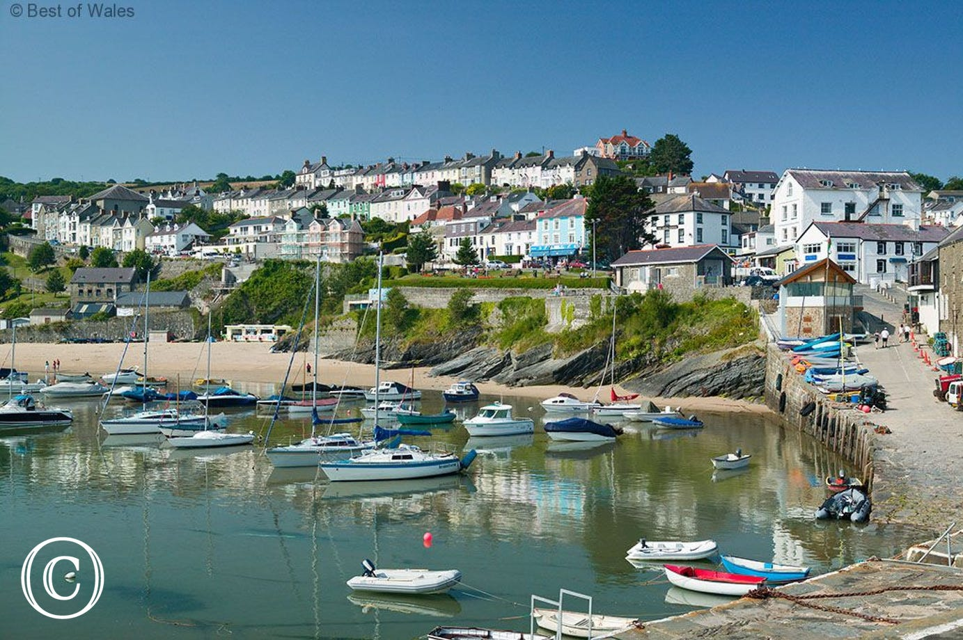New quay - enjoy the beach or book a dolphin trip from harbour