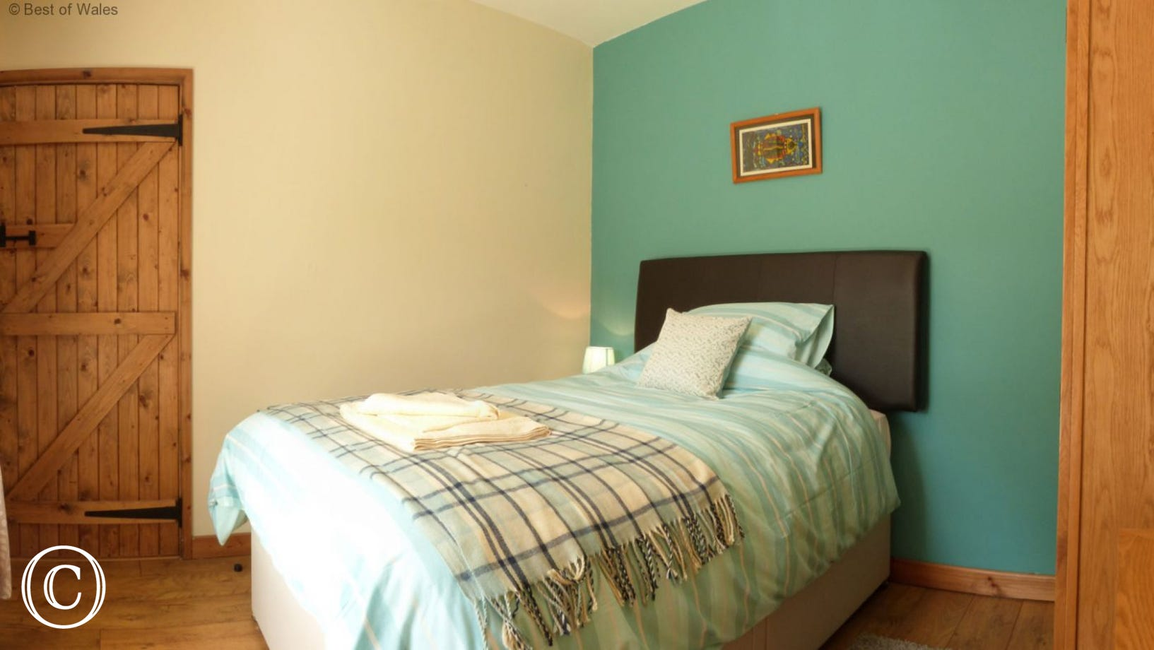Bedroom 4 - Small double bed (4ft) for single occupancy.