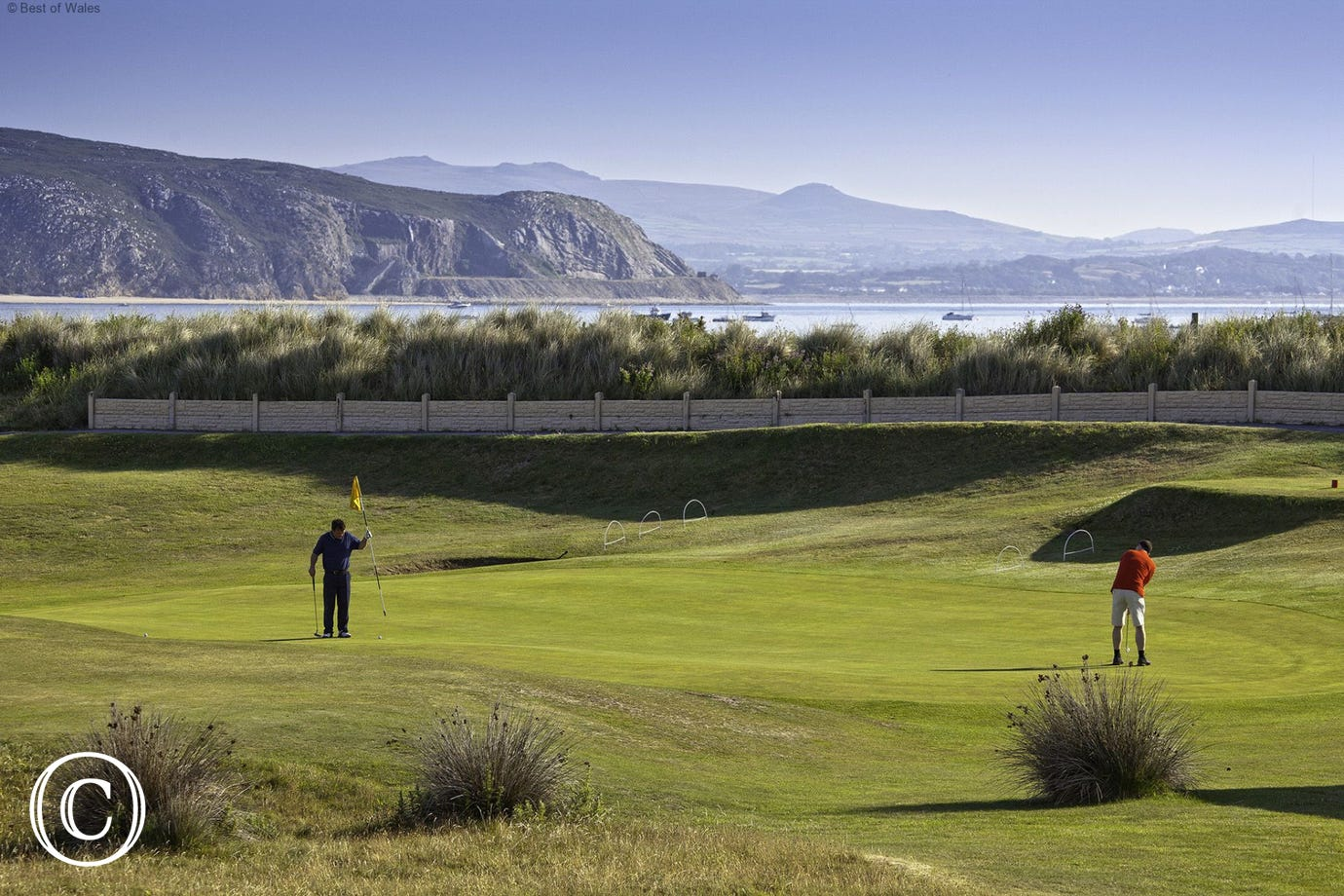 Abersoch Golf Club (8 miles) also offers and 18 hole golf course