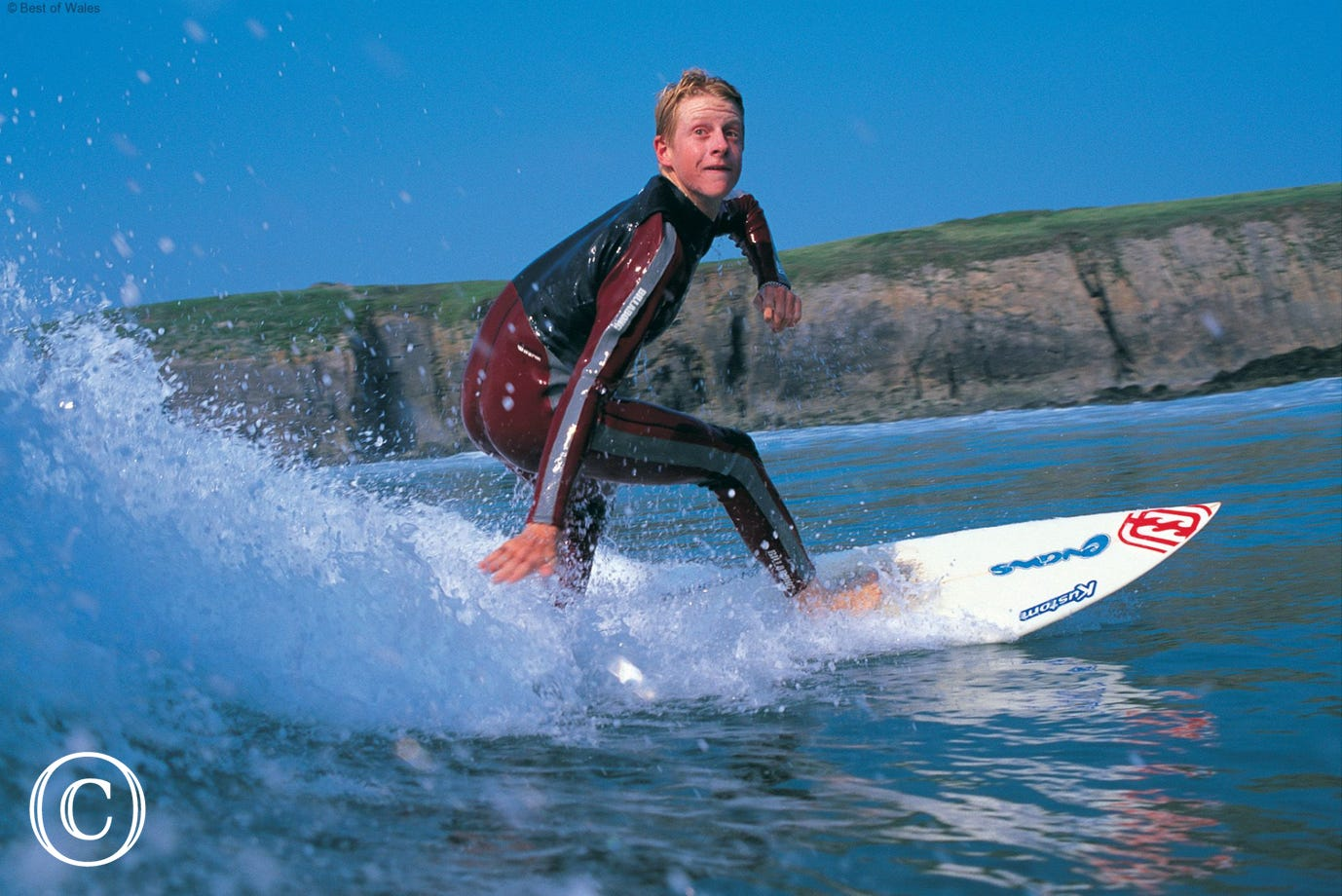 Porth Neigwl (Hell's Mouth) is a popular venue for surfers and body boarders