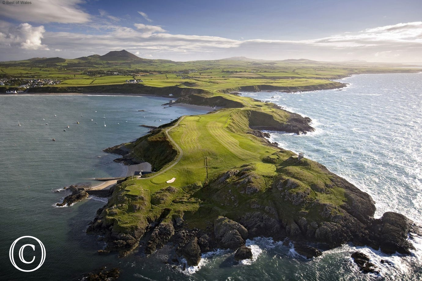 Nefyn and District Golf Club offering two cliff top 18 hole courses