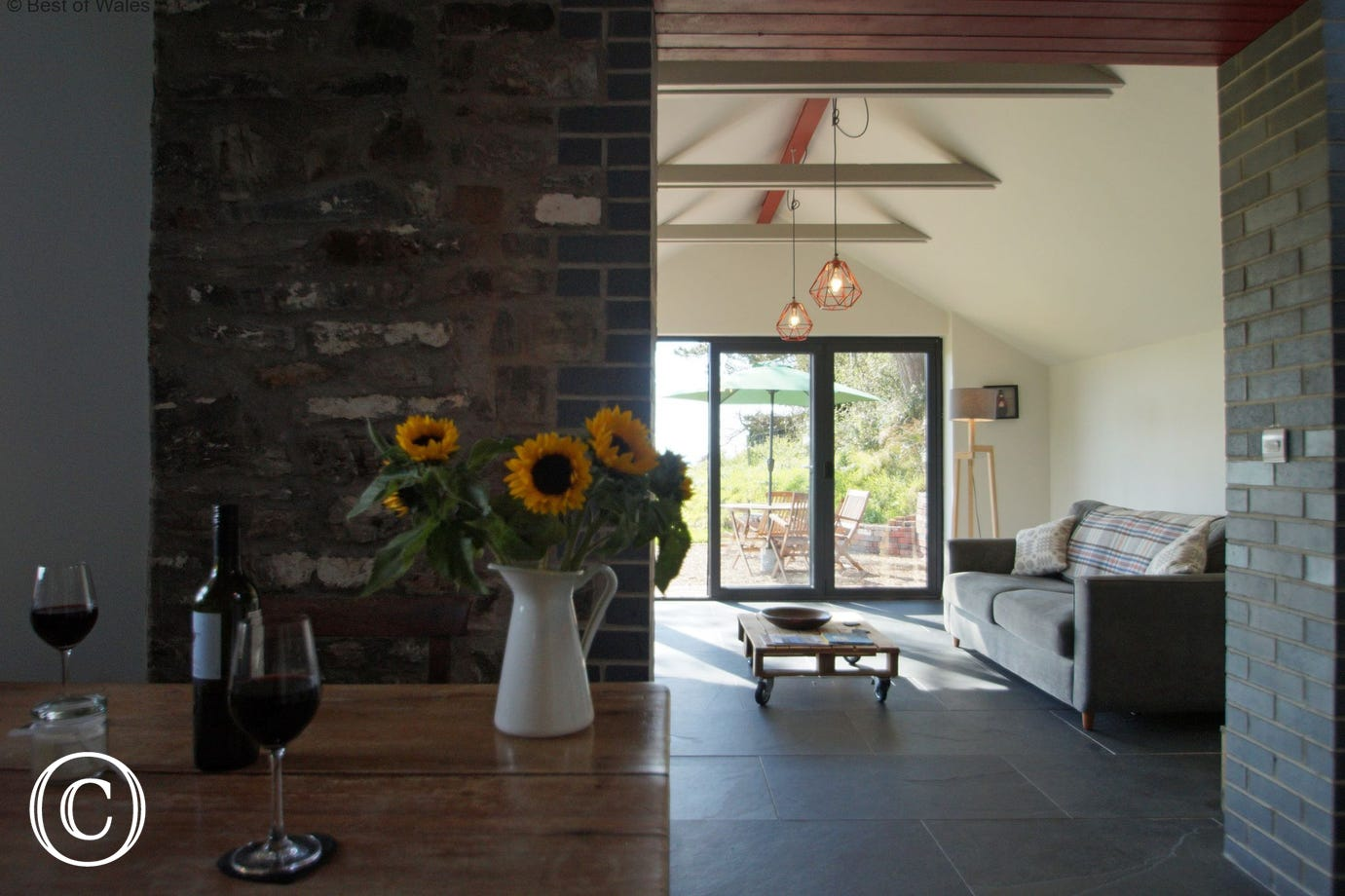 Romantic Aberystwyth Self Catering Accommodation for Couples