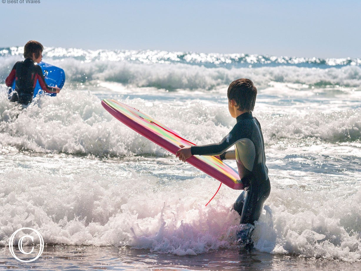 great family beaches in Pembrokeshire