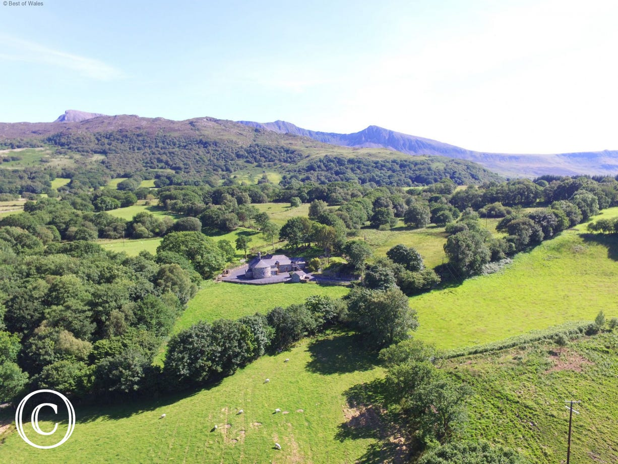Located on the foothills of the Cader Idris mountain range