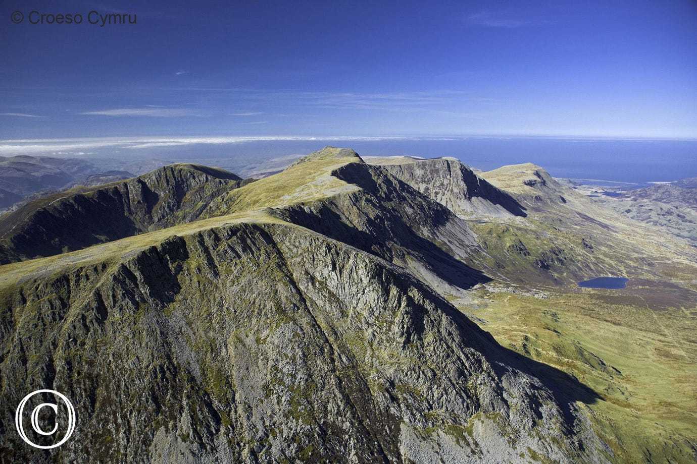 The majestic heights of Cader Idris with some very rewarding views
