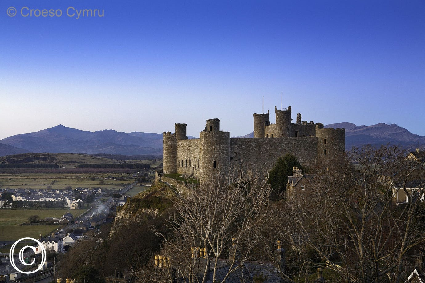 Harlech Castle's World Heritage site