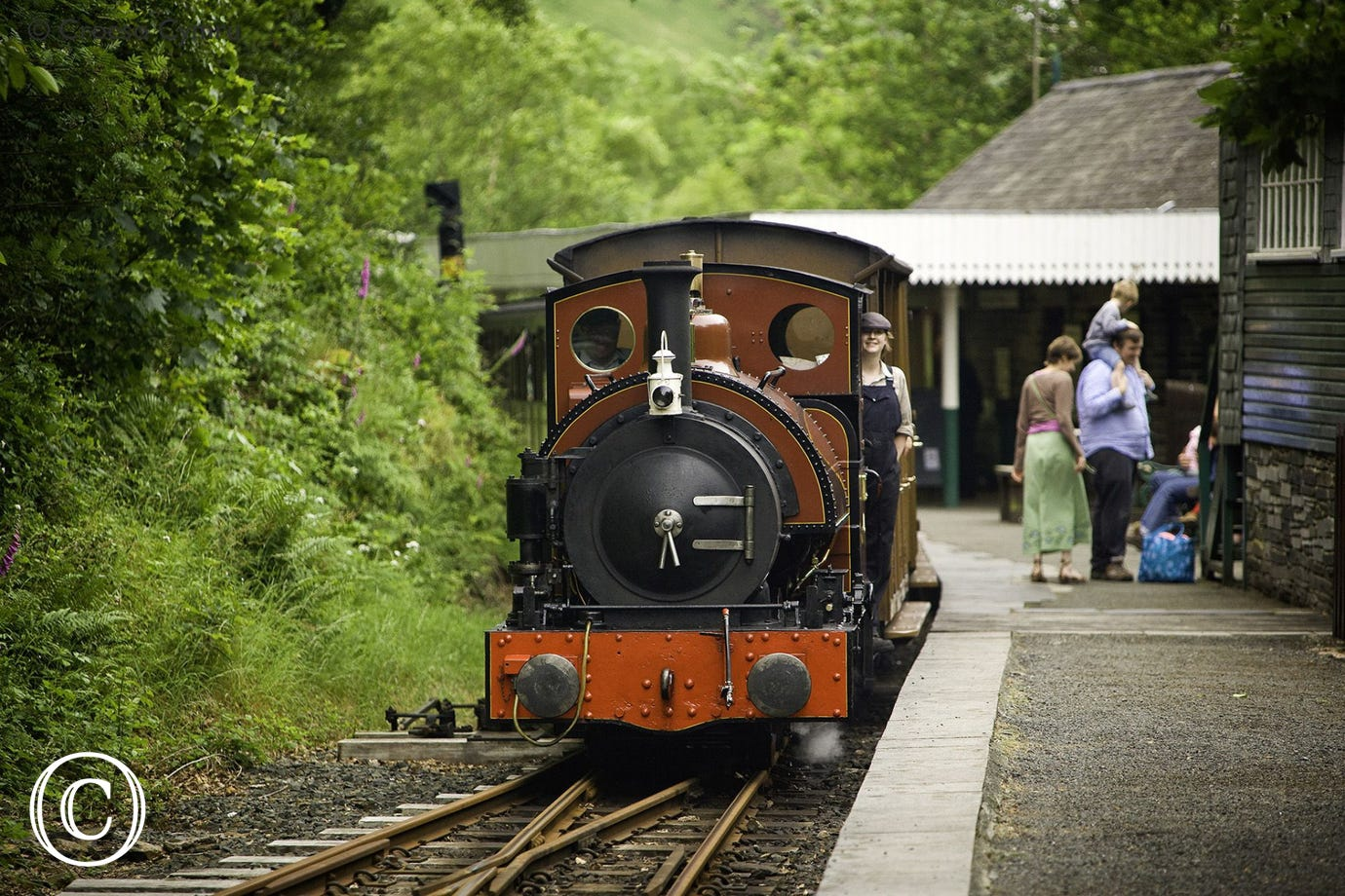 Tal-y-llyn Narrow Gauge Railway for a relaxing and scenic experience