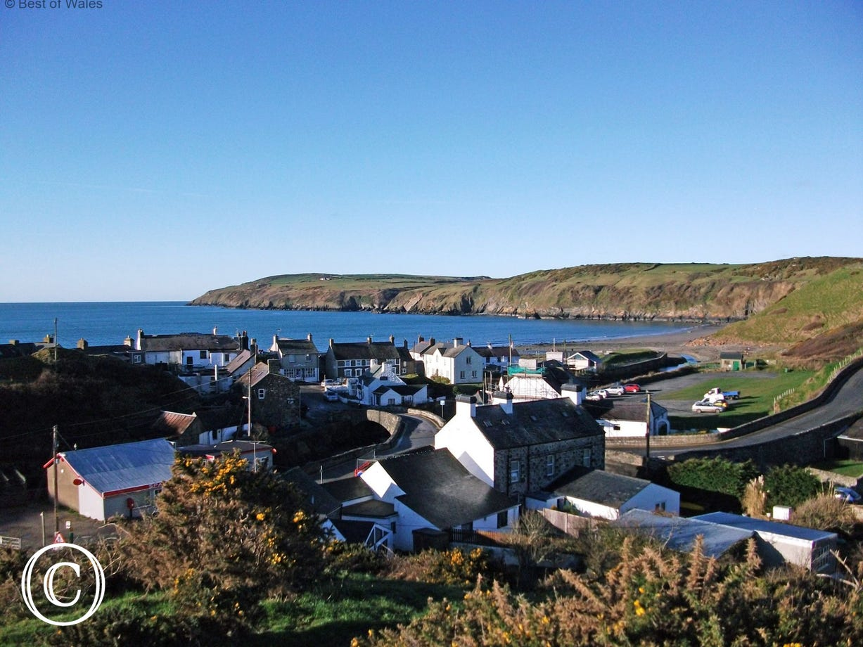The picturesque seaside village of Aberdaron