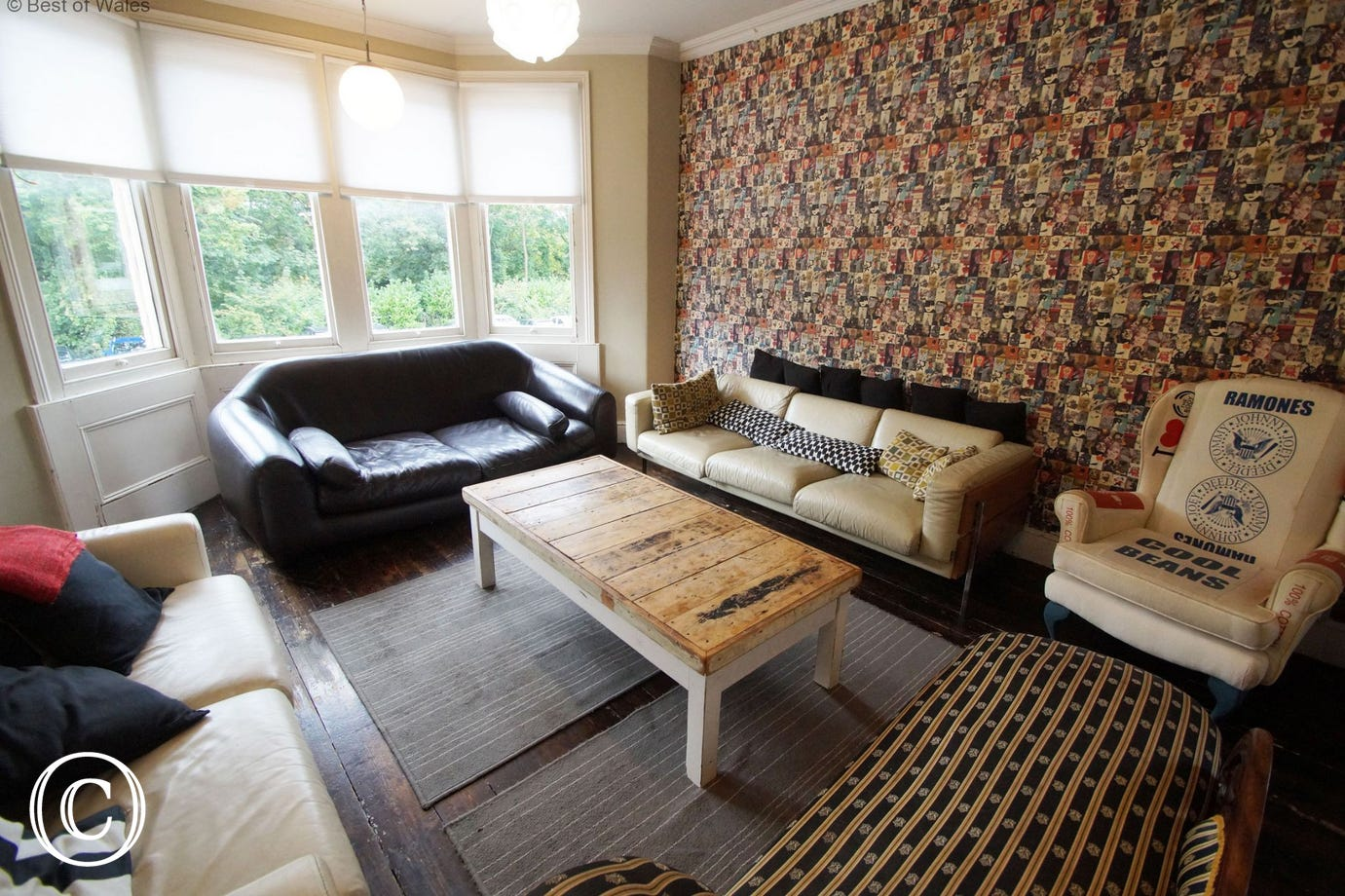Cardiff Boutique Townhouse  -Luxury Large accommodation in Cardiff