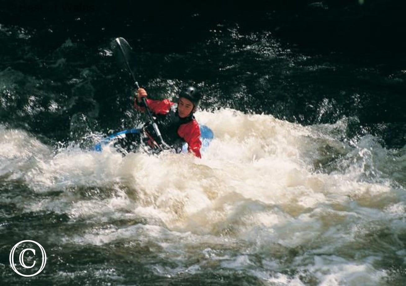 Enjoy some canoeing at Betws y Coed, 3 miles from your cottage