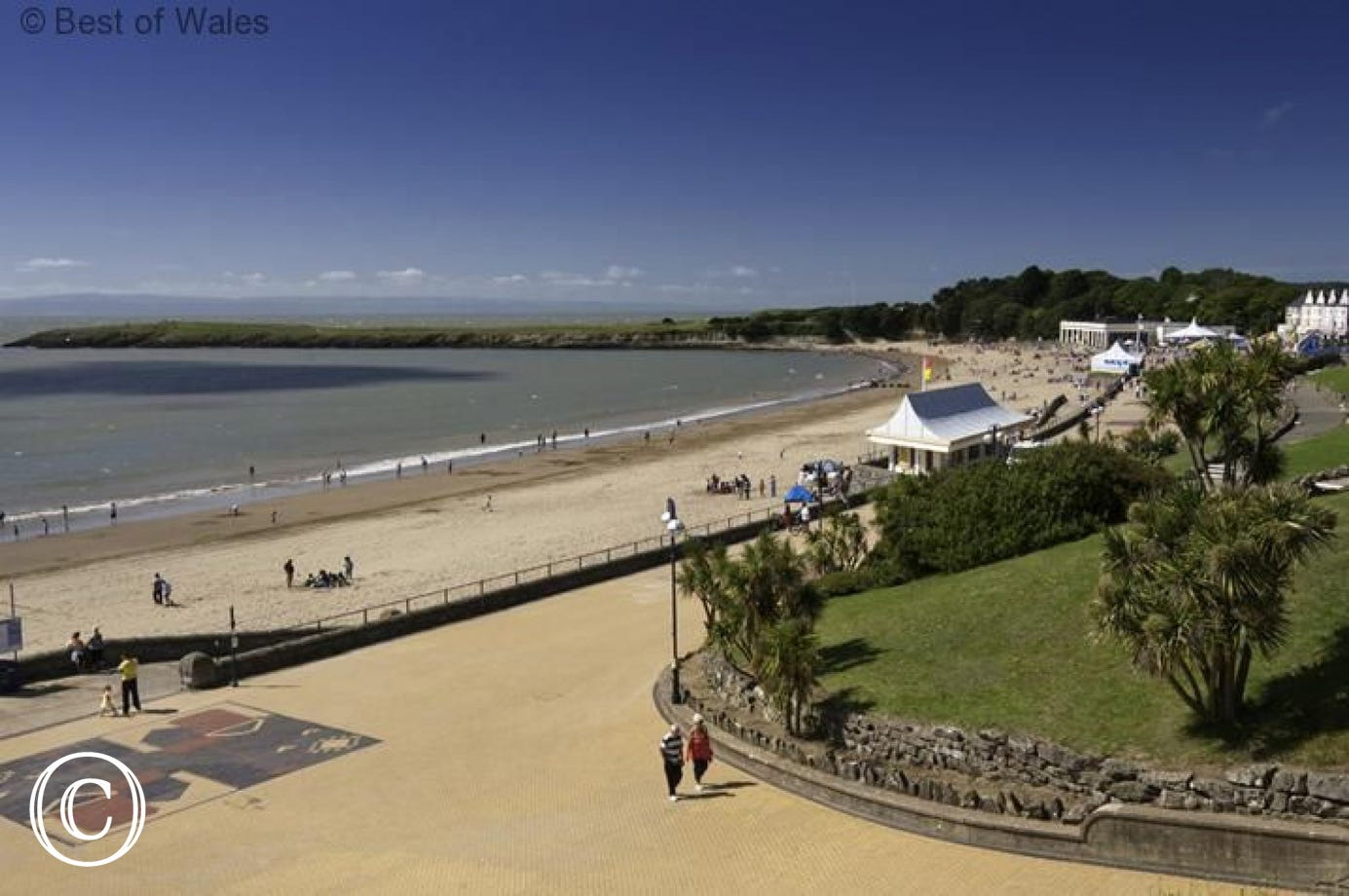 Barry Island beach - only 2 miles away