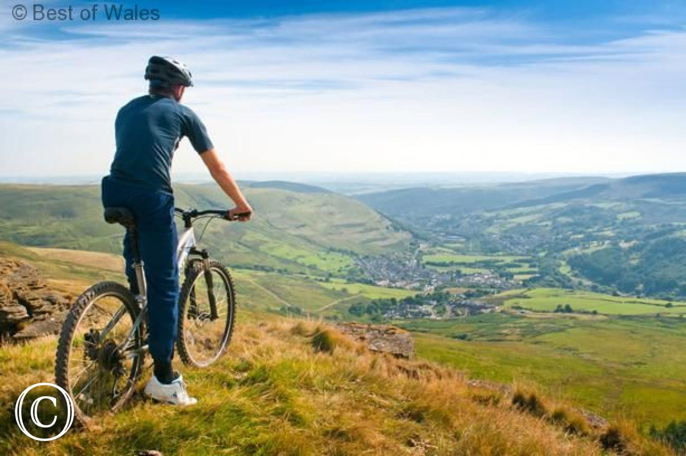 Superb mountain biking in the area including Bike Park Wales