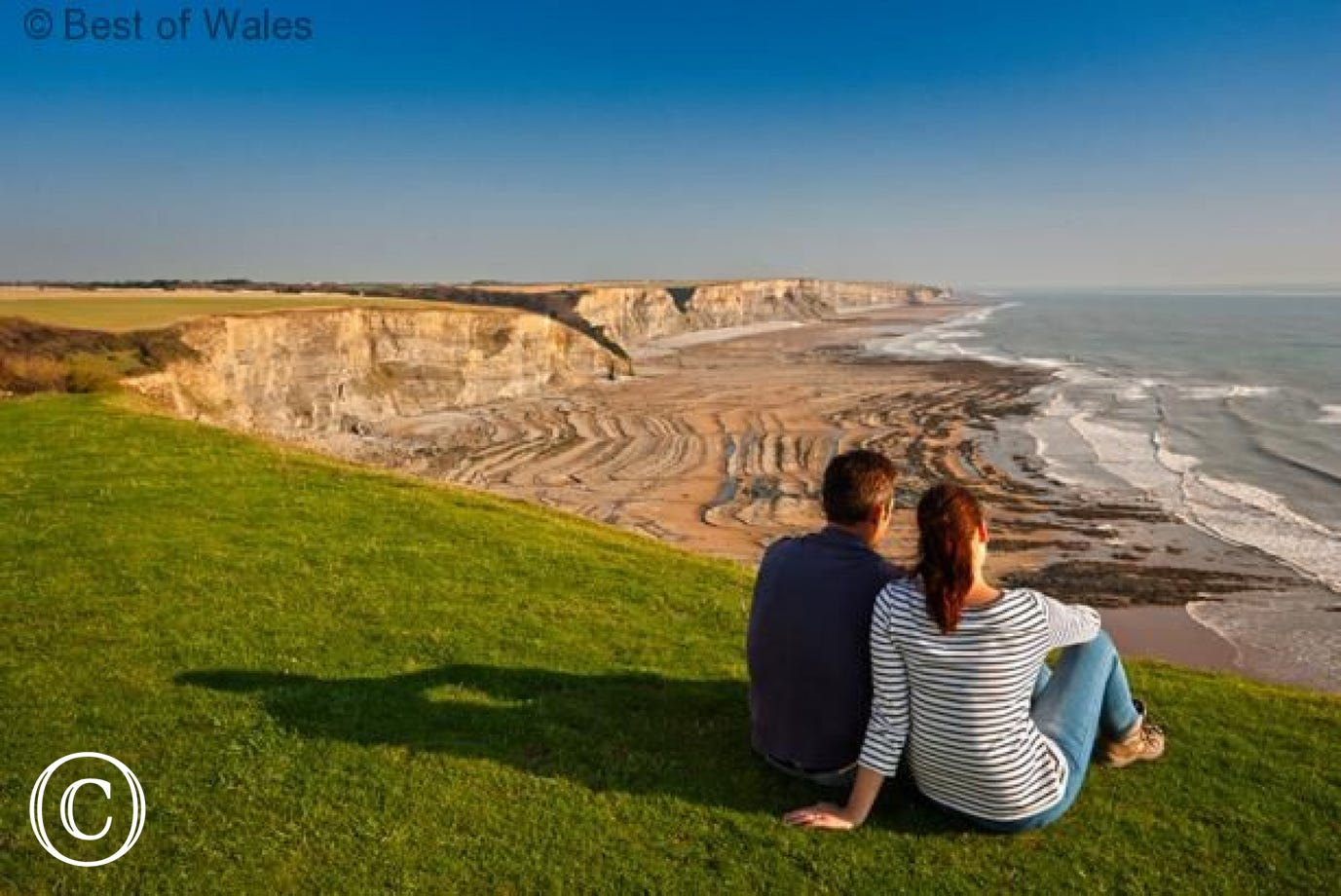 The stunning Glamorgan Heritage Coast
