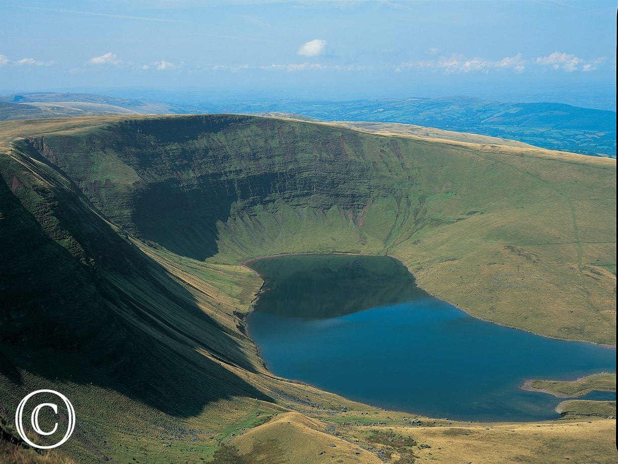 LLyn y Fan in Brecon Beacons