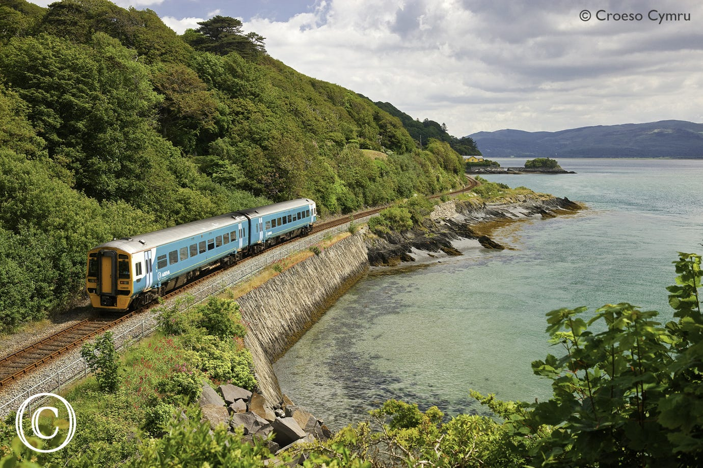 One of the most scenic railways in the world begins in Machynlleth