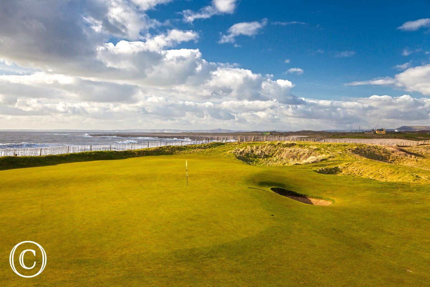 One of the many golf course in Porthcawl