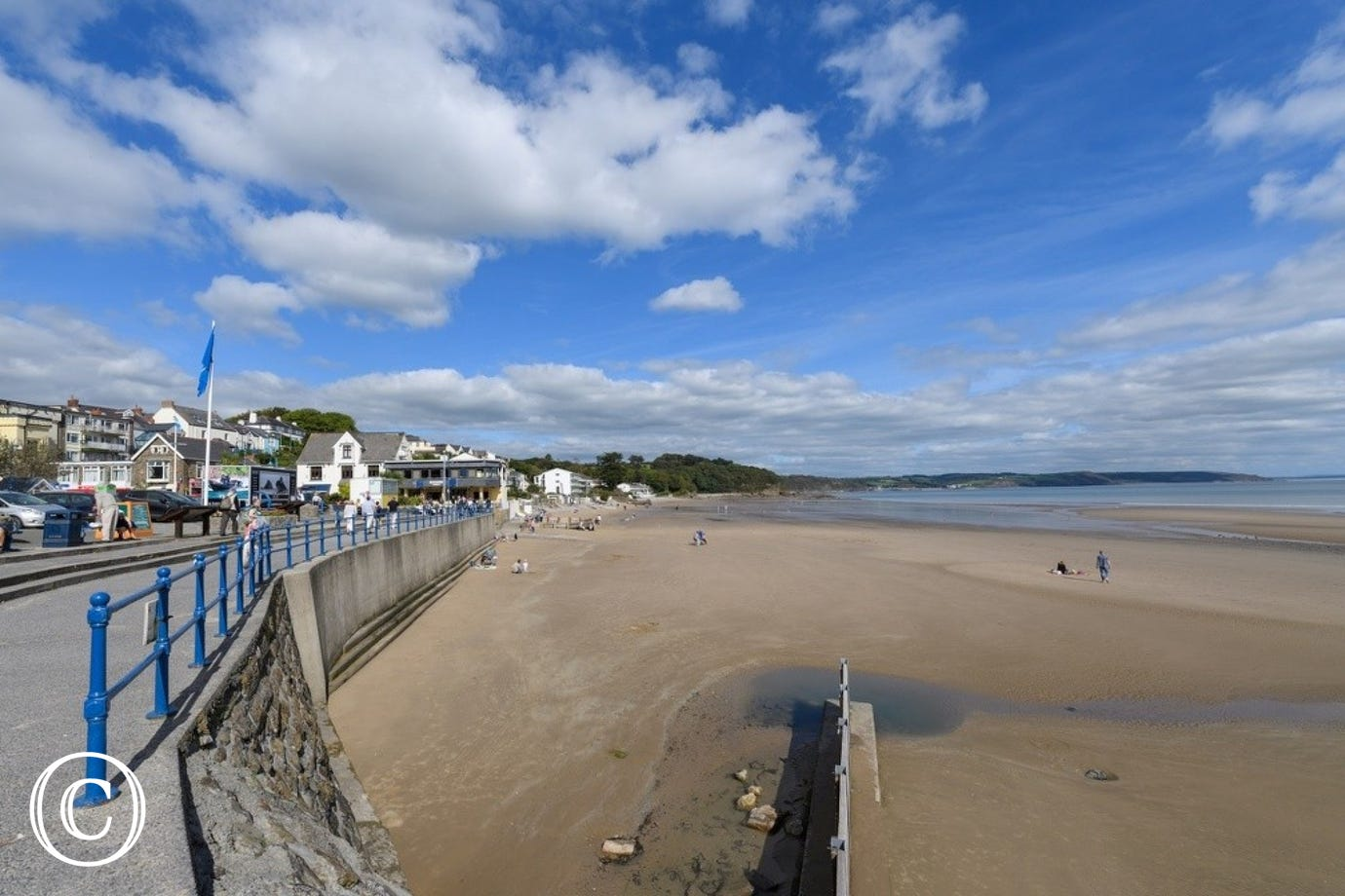 Saundersfoot is a lovely coastal village with harbour, a short drive from Moreton Farmhouse