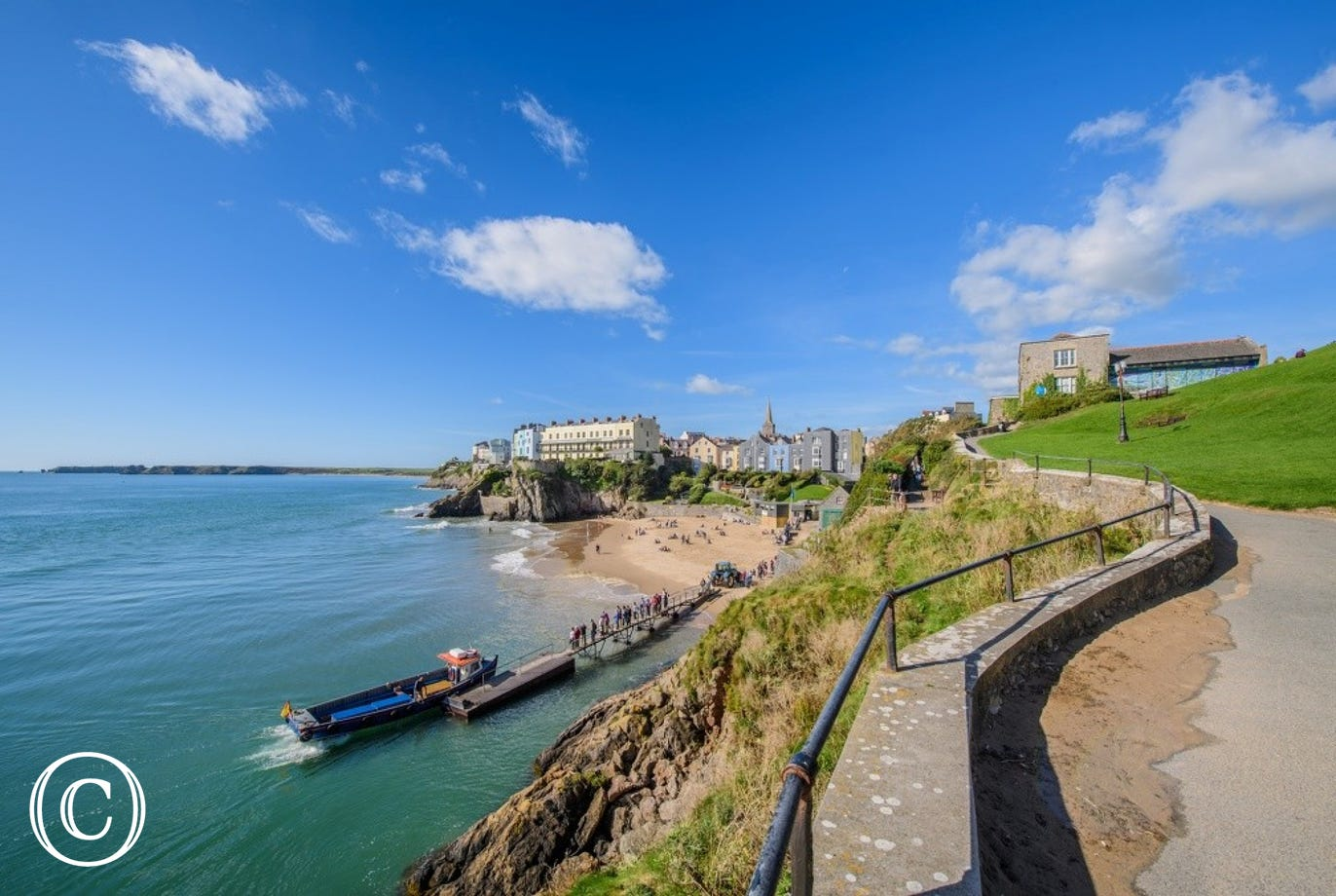 Tenby is an idyllic coastal town